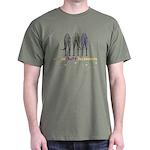 Nothin' Butt Deerhounds Green T-Shirt