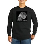 Crystal Skull Synergy Long Sleeve Dark T-Shirt