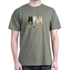 Nothin' Butt Frenchies Green T-Shirt