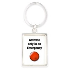 Emergency button Keychains