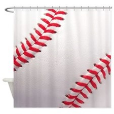 Baseball sports theme Shower Curtain