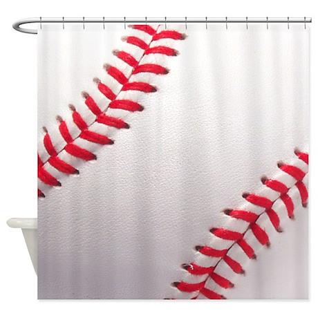 Gifts gt ball bathroom d 233 cor gt baseball sports theme shower curtain
