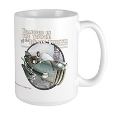 Thrilling Tales: Gwen's Hepmobile Rocket Mug 15oz
