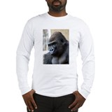 Gorilla Watching Long Sleeve T-Shirt