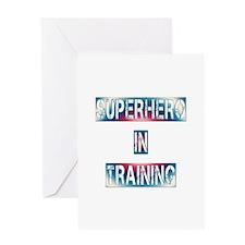 Superhero in Training Greeting Card