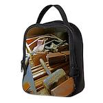 carpenter tools 2.png Neoprene Lunch Bag