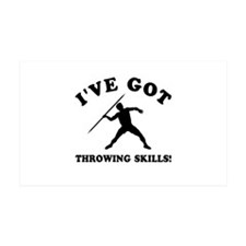 I've got Throwing skills Wall Decal