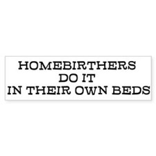 Homebirth Bumper Bumper Sticker