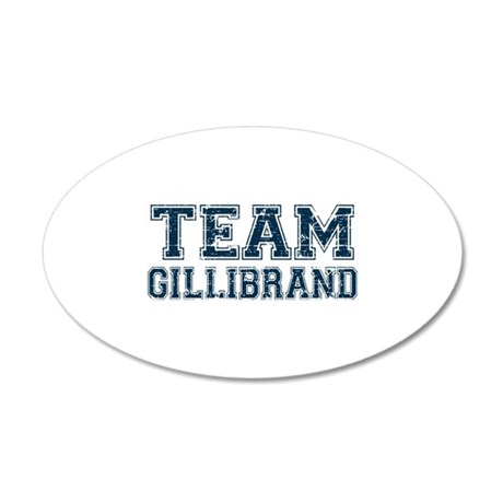 Team Gillibrand 20x12 Oval Wall Decal