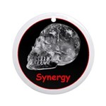 Crystal Skull Synergy Ornament (Round)