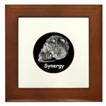 Crystal Skull Synergy Framed Tile