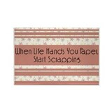 When Life Hands You...Rectangle Magnet (10 pack)
