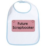 Future Scrapbooker Baby Bib