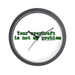Your Overdraft is Not My Prob Wall Clock