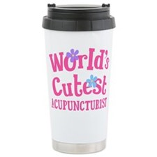 World's Cutest Acupuncturist Ceramic Travel Mug