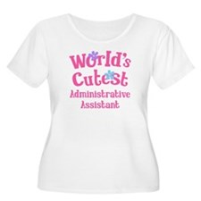 World's Cutest Administrative Assistant T-Shirt