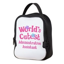 World's Cutest Administrative Assistant Neoprene L
