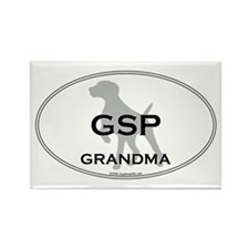 GSP GRANDMA Rectangle Magnet