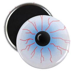 Bloodshot Eyeball Magnet