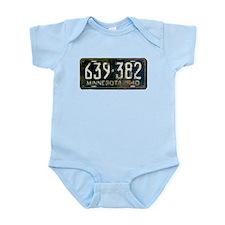 1940 Minnesota License Plate Infant Bodysuit