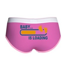 Baby is Loading Women's Boy Brief