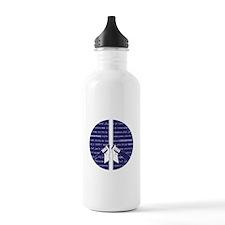 I Choose Peace Water Bottle