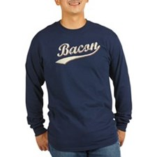 Bacon Swoosh Long Sleeve T-Shirt