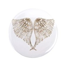 "Golden Angel 3.5"" Button (100 pack)"