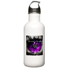 Through the eye of lupus Water Bottle