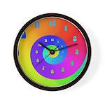 60's Spiral Wall Clock