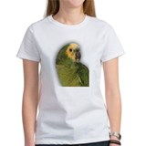 Amazon Blue Front Parrot Tee