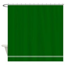 Solid color shower curtains solid color fabric shower - Forest green shower curtain ...