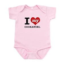 I love my Cockatiel Infant Bodysuit