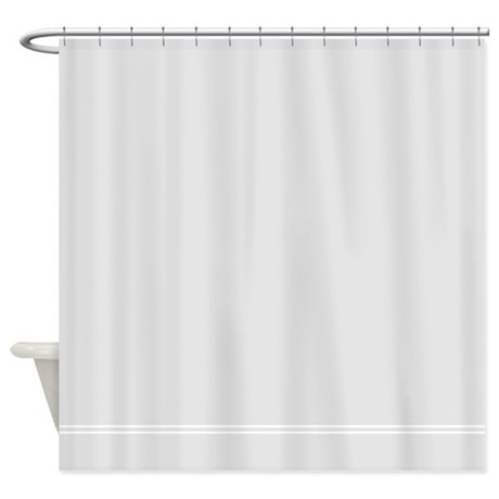 Silver gray shower curtain by inspirationzstore for Grey silver bathroom accessories