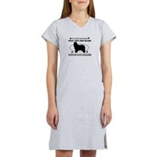 Canaan Dog mommy gifts Women's Nightshirt