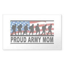Proud Army Mom Vinyl Decal