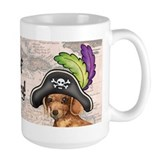 Dachshund Pirate Mug