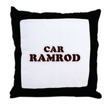 Car Ramrod Throw Pillow