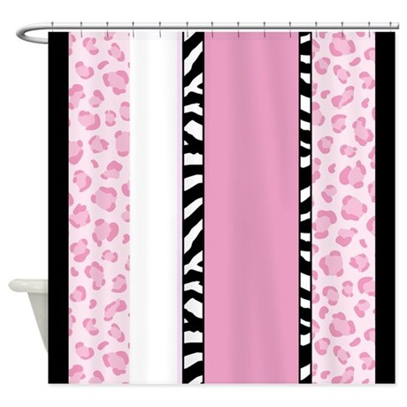 Pink zebra window curtains amp drapes pink zebra curtains for any room