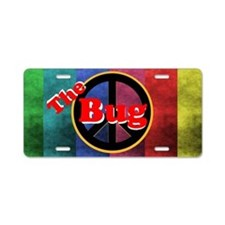 The Bug Aluminum License Plate