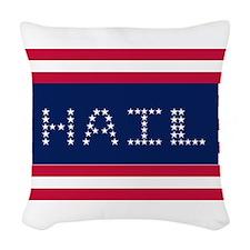 HAIL Woven Throw Pillow