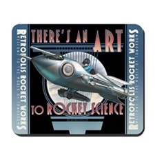 There's an Art to Rocket Science Mousepad