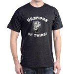 Grandpa of Twins Dark T-Shirt