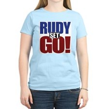 Rudy Giuliani Women's Pink T-Shirt
