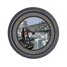 """Clouds Will Soon Roll By"" Wall Clock"