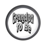 Grandpa To Be Wall Clock