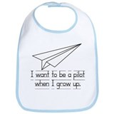 I want to be a pilot Bib