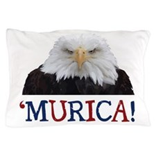 Murica! Bald Eagle Pillow Case