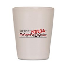 Job Ninja Mech Eng Shot Glass