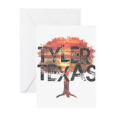 Tyler Texas Tree Greeting Card